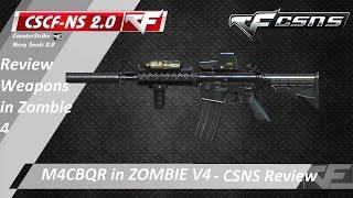 [CF-Offline 2016] CK2.0 Zombie V4 ☆ M4 CBQR - Cây súng có ngoại hình hầm hố