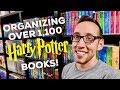 ORGANIZING OVER 1,100 HARRY POTTER BOOKS