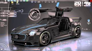 Cool Windows 7 Theme-Dark Agility Blue