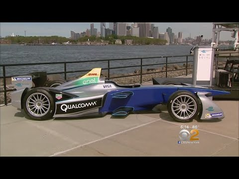 Formula E Cars Race Into NYC