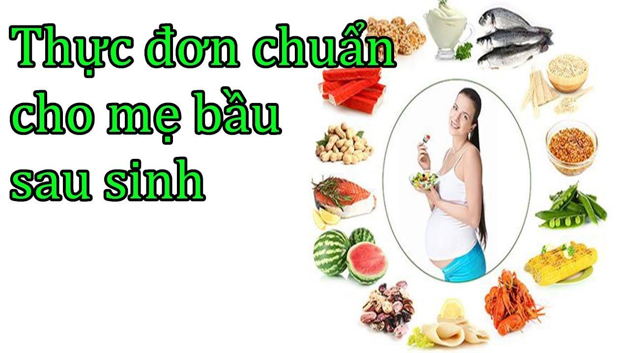 Thực đơn các món ăn ở cữ cho mẹ bầu sau sinh| phụ nữ mang thai | mangthaibaby.com