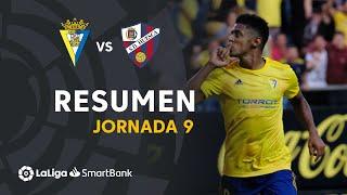 Resumen de Cádiz CF vs SD Huesca (1-0)
