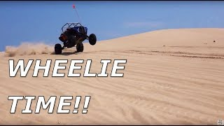 Wheelie EVERYTHING! UTVs Unleashed at Silver Lake dunes!