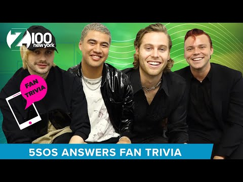 5SOS Answers Z100 Fan Interview