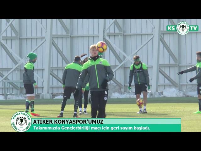 Atiker Konyaspor'umuzda Gençlerbirliği maçı için geri sayım başladı