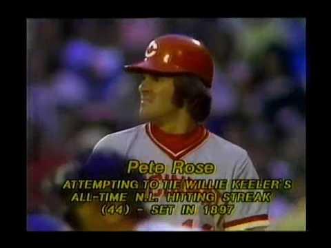 1978 Pete Rose Hitting Streak