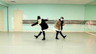 アメリカからきました!私たちはスノートリックを踊ってみた!^^見て...