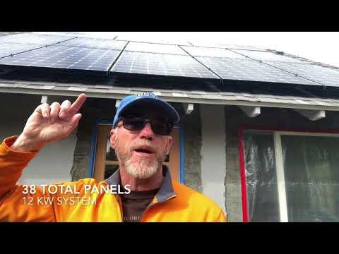 Talking Tesla's Studio Solar Array
