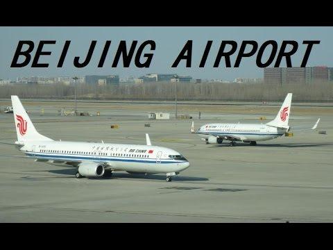 BEIJING AIRPORT 2015 - INSIDE VIEW-  FLUGHAFEN PEKING