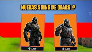 CHARACTERS OF GEARS OF WAR 4 IN FORTNITE NEW SKIN AND MUCH MORE .?