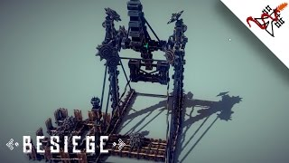 Besiege - Interesting Reloadable Trebuchet/catapult
