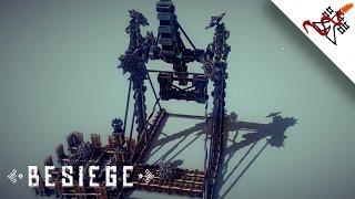 Besiege - Interesting Reloadable Trebuchet/catapult