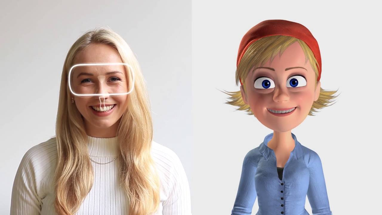 tout neuf 475c9 405b9 The Avatar of Tomorrow: New Face-Tracking VR Makes You Into ...