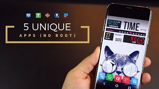 5 Unique Android Apps - FREE and NO ROOT (2017)