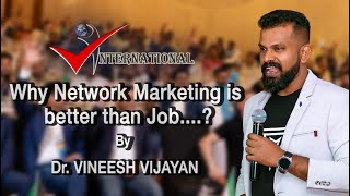 Why Network Marketing is Better than a Job (In Hindi - V International)