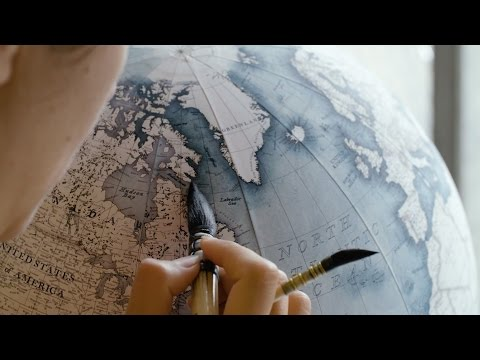 The Art of Handmade Globes