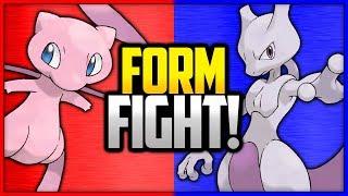 Mew vs Mewtwo | Pokémon Form Fight (Legendary)