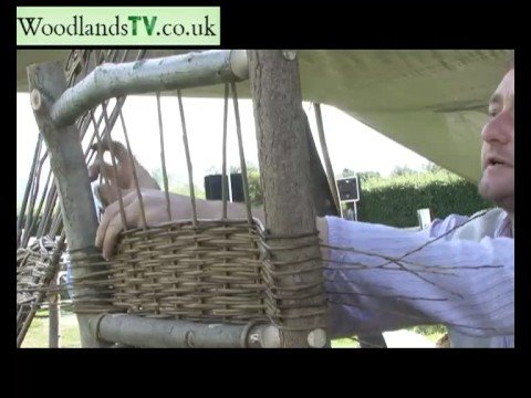 Willow Weaving To Make A Chair