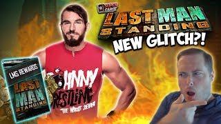 Johnny Gargano Last Man Standing Rewards! INSANE NEW GLITCH FOUND?! | WWE SuperCard