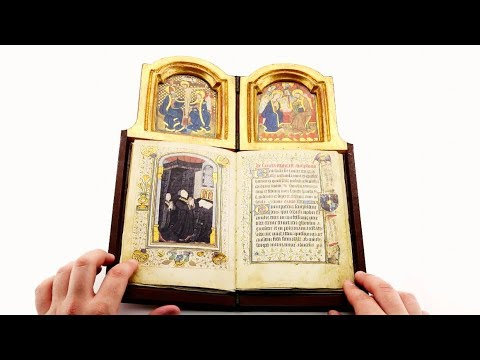 Book Altar of Philip The Good - Leafing through the facsimile edition