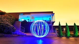 Cómo hacer esferas en fotografía nocturna