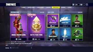 MOGUL MASTER & BATTLE PASS TEIRS; Featured Item Shop Update in FORTNITE #12/4/18