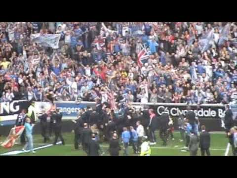 The Champions - Rangers Bring The SPL Trophy Home