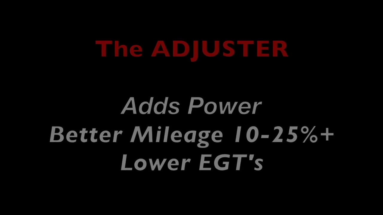 Evaluation of The ADJUSTER 12v Cummins In-Cab Fuel Controller