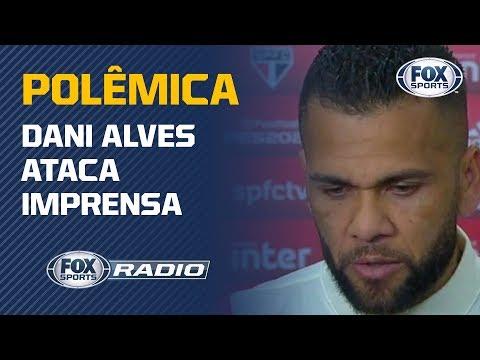 """'NUNCA JOGARAM FUTEBOL': """"FOX Sports Rádio"""" debate declaração polêmica de Dani Alves"""