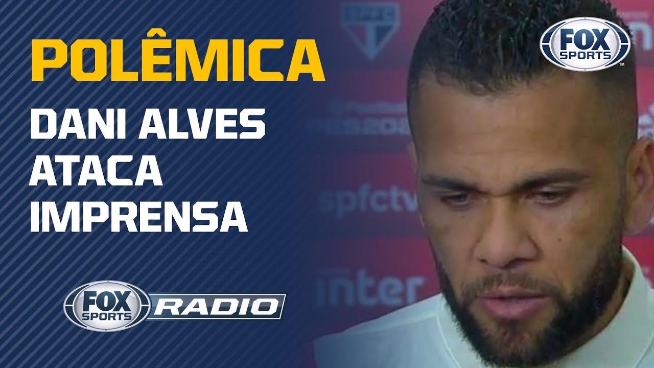 """Download 'NUNCA JOGARAM FUTEBOL': """"FOX Sports Rádio"""" debate declaração polêmica de Dani Alves"""