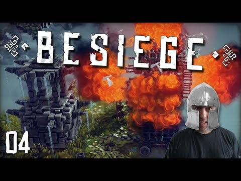 "BESIEGE Gameplay Part 4 - ""COLONEL SANDERS KILLING MACHINE!!!"" 1080p PC Gameplay Walkthrough"