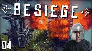 "BESIEGE Gameplay Part 4 - ""COLONEL SANDERS KILLING MACHINE!!!"" 1080p PC Gameplay Walkthrough"