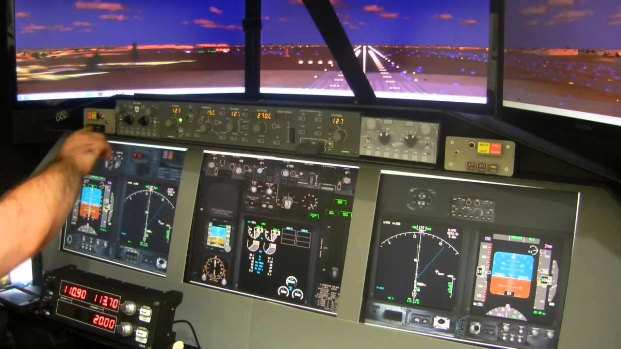 Boeing 737 Home made flight simulator