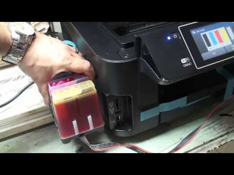 Continuous Ink Supply System Ciss Use For Workforce
