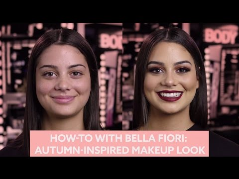 How To With Bella Fiori: Autumn Inspired Makeup Look | MECCA Beauty Junkie