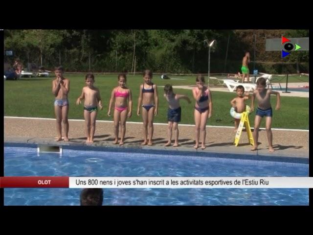Olot, ciutat educadora: ESTIU RIU - ACTIVITATS ESPORTIVES