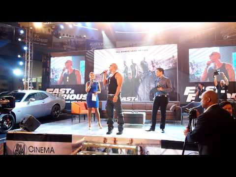 Fast & Furious 6 Red Carpet Asian Premiere at Mall of Asia