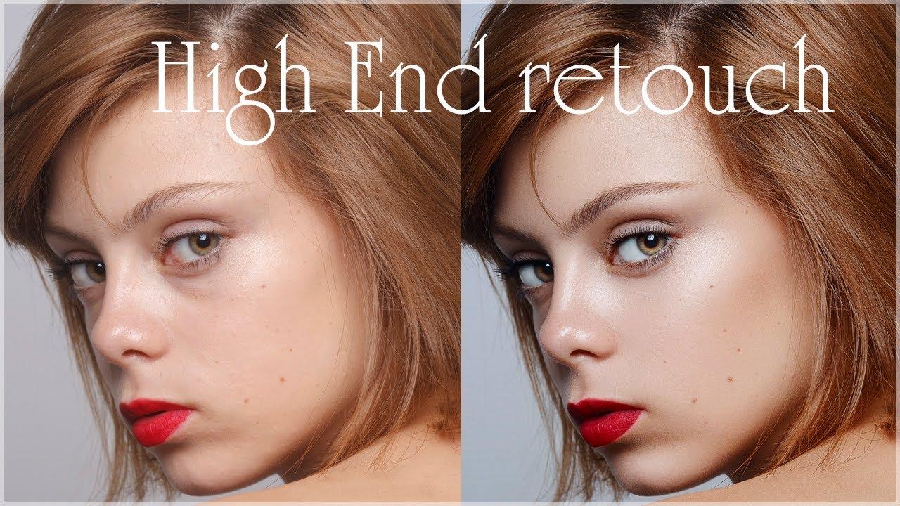 High end ретушь модели онлайн серпухов