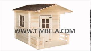 Wooden Playhouse Assembly