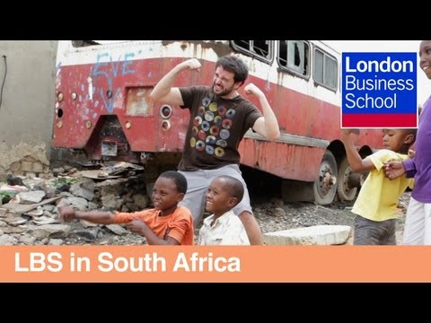 Global Business Experience - MBA student perspective in South Africa | London Business School