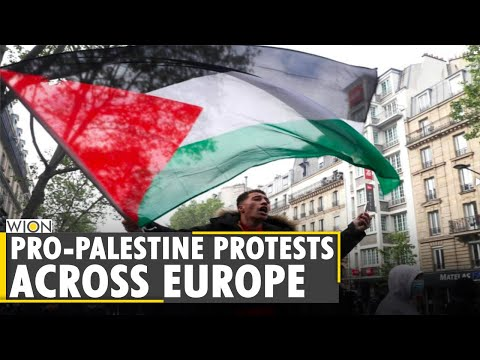 Israel-Palestine Clashes: Pro-Palestine protests across the Globe | Latest World English News | WION