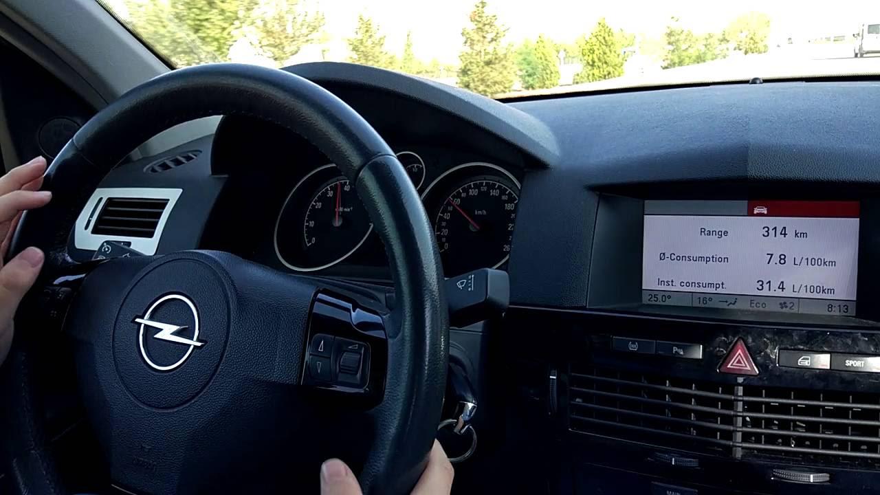Opel Astra H 2006 1.6 Benzinli Easytronic 2CR Garage Yazılım Sonrası Testi