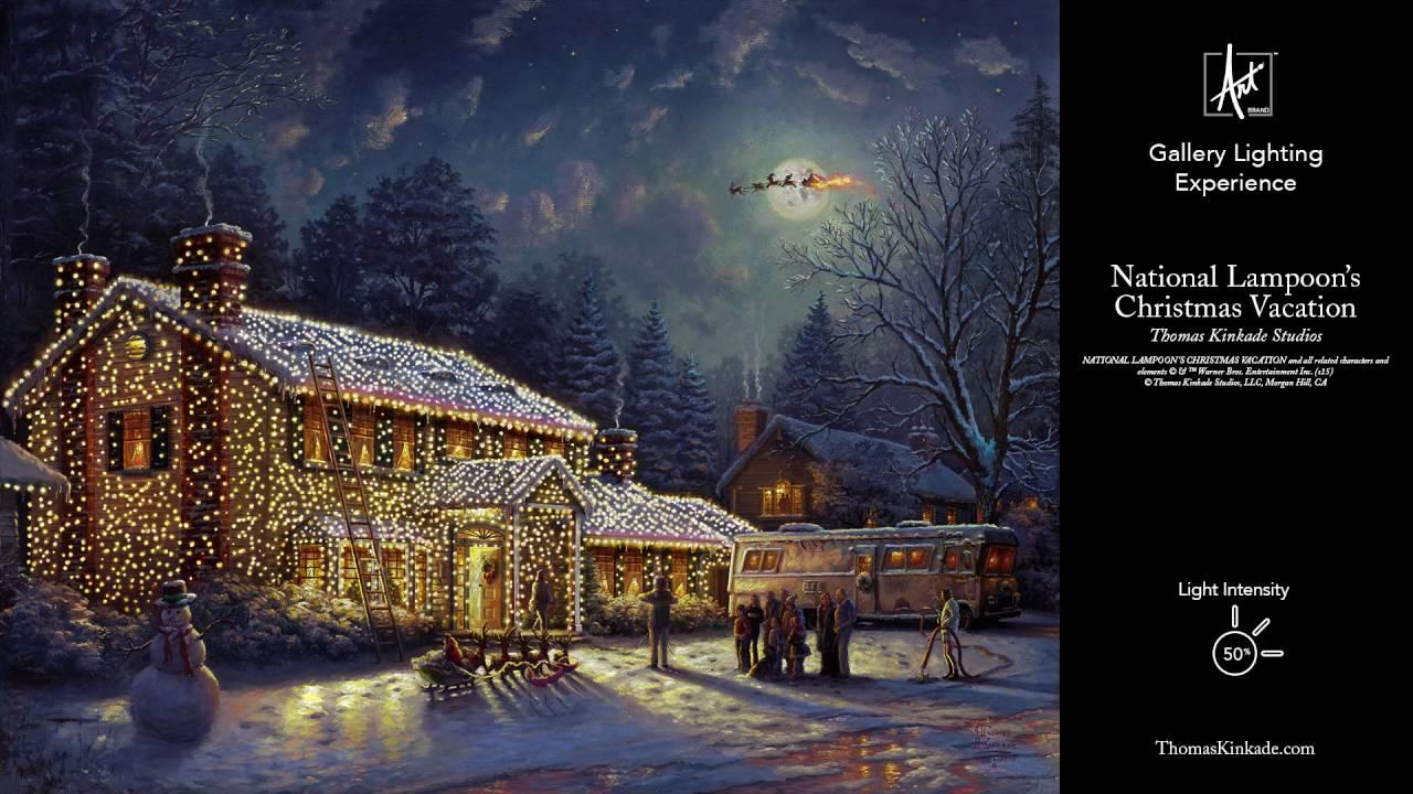 national lampoons christmas vacation by thomas kinkade