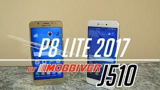 Сравнение Samsung Galaxy J5 2016 и Huawei P8 Lite 2017. Что лучше Самсунг или Хуавей?