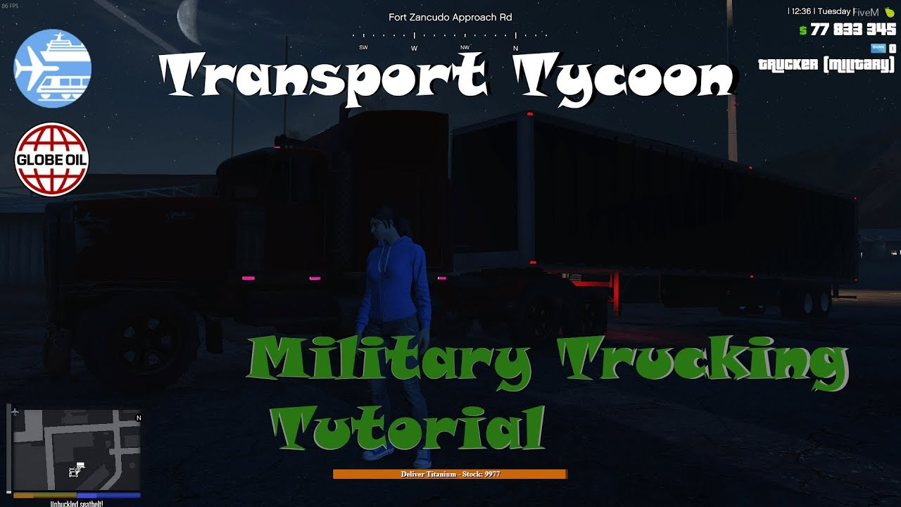Voidded-Tutorial: Transport Tycoon, Petrochemical Trucking Tutorial PT-3:  Military