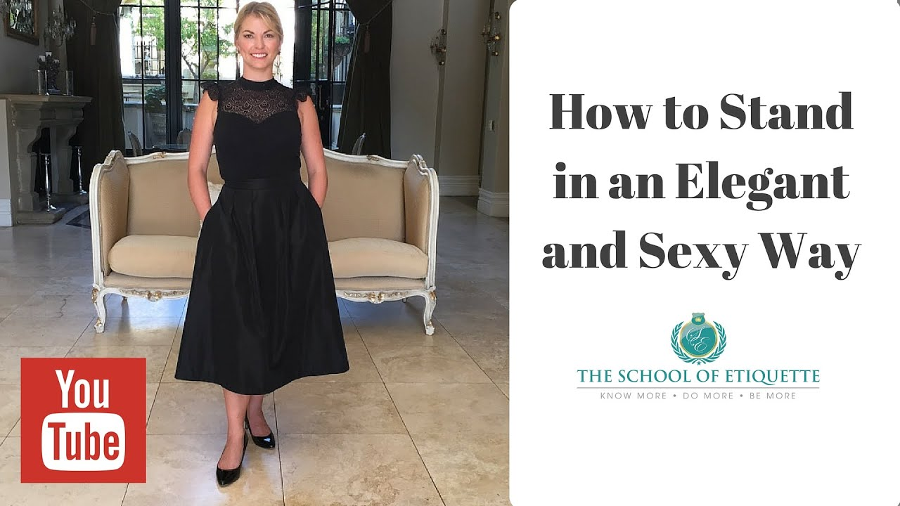 How To Stand In A More Feminine And Y Position