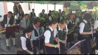 Dorffest Alpbach 2015 Musikkapelle Unterweissenbac