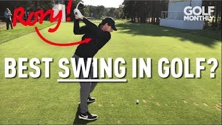 BEST SWING IN GOLF?? RORY McILROY 2019 SWING SEQUENCE I Golf Monthly