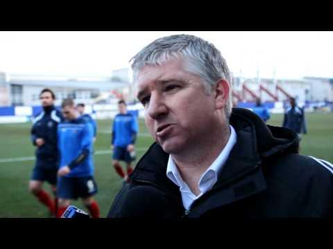 Martin Ling's Post Match Shrewsbury interview