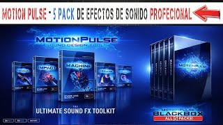 MOTION PULSE - 5 Pack de Efectos de Sonido PROFESIONAL
